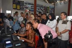 Batam, Acara Simulasi Percepatan Perekaman KTP-el dalam rangka Optimalisasi DPT Narapidana dan Tahan menjelang Pemilihan Umum (Pemilu) 2019